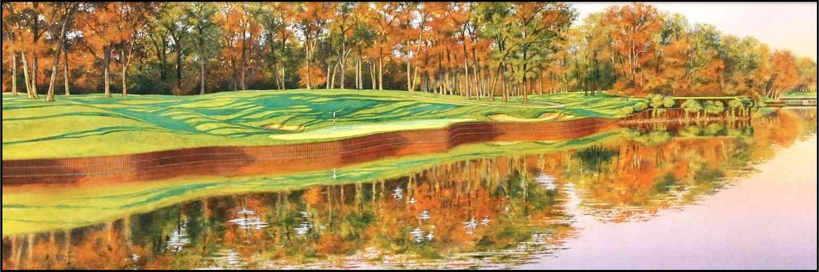 fine golf art by steve lotus